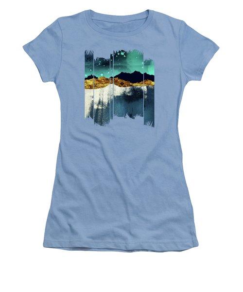 Evening Stars Women's T-Shirt (Junior Cut) by Katherine Smit