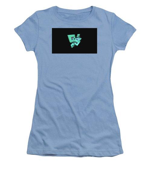 Facets Women's T-Shirt (Athletic Fit)