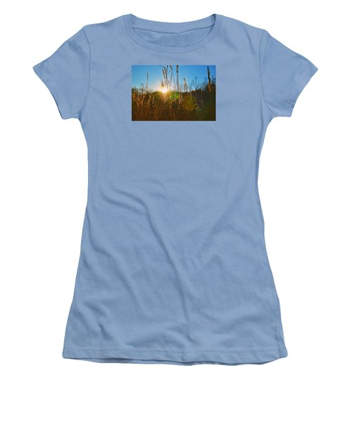 Women's T-Shirt (Junior Cut) featuring the photograph Faded Day by Nikki McInnes