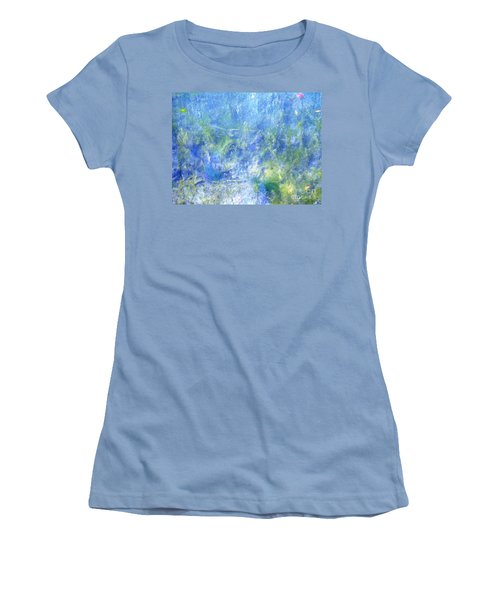 Women's T-Shirt (Junior Cut) featuring the photograph Fairy Ring Beneath The Surface by Melissa Stoudt