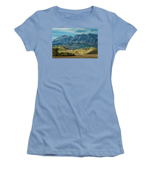 Fall In Gunnison County Women's T-Shirt (Athletic Fit)