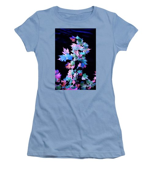 Fall Leaves1 Women's T-Shirt (Athletic Fit)