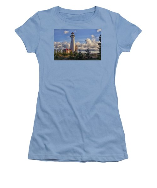 Fall Morning At Crisp Point Women's T-Shirt (Athletic Fit)