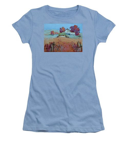 Farm Charm Women's T-Shirt (Athletic Fit)
