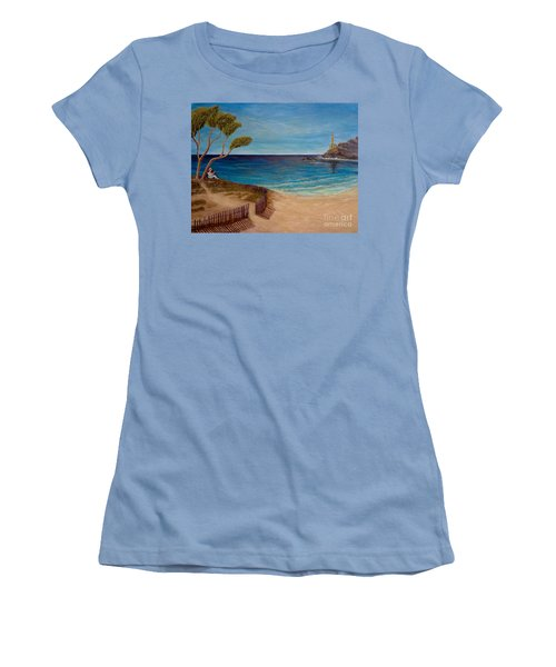 Finding My Special Place In The Summertime  Women's T-Shirt (Junior Cut) by Kimberlee Baxter