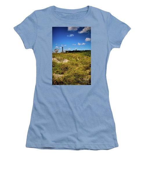 Women's T-Shirt (Junior Cut) featuring the photograph Florida Lighthouse  by Kelly Wade
