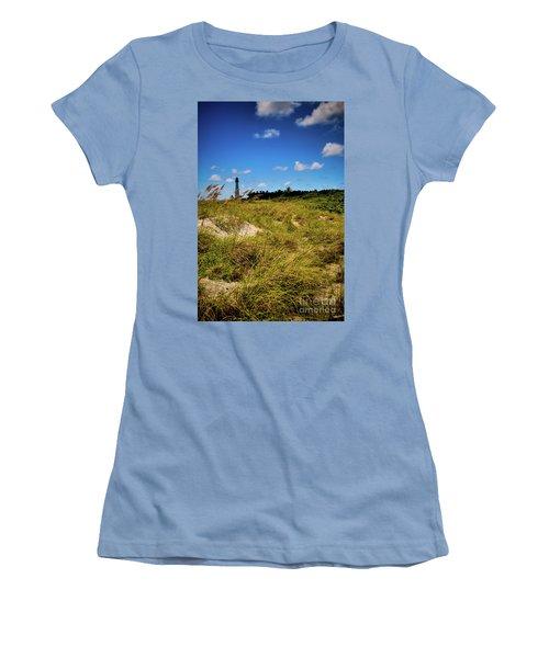 Florida Lighthouse  Women's T-Shirt (Junior Cut) by Kelly Wade