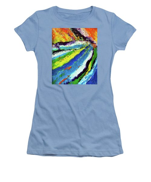 Flowage Women's T-Shirt (Athletic Fit)