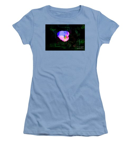 Women's T-Shirt (Junior Cut) featuring the photograph Flower Wower by Al Bourassa
