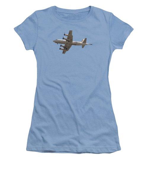 Fly Navy T-shirt Women's T-Shirt (Junior Cut) by Bob Slitzan