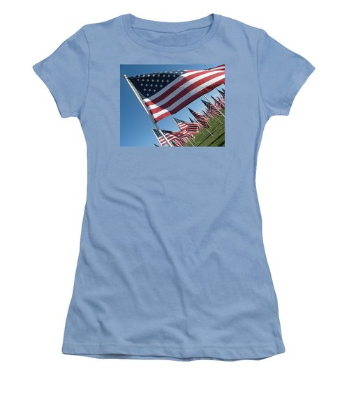 Forever Flags Women's T-Shirt (Athletic Fit)