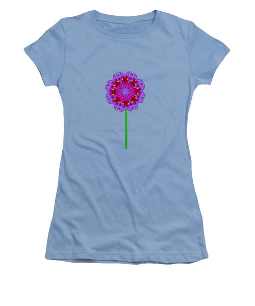 Fractal Flower Garden Flower 01 Women's T-Shirt (Athletic Fit)