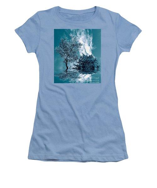 Frollicking Women's T-Shirt (Junior Cut) by Elfriede Fulda