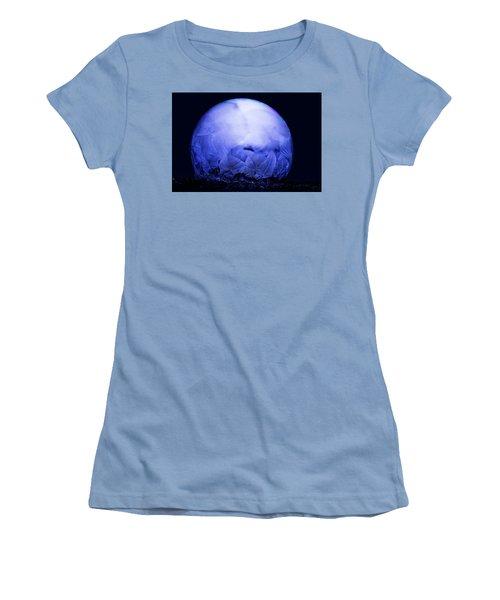 Frozen Bubble Art Blue Women's T-Shirt (Athletic Fit)