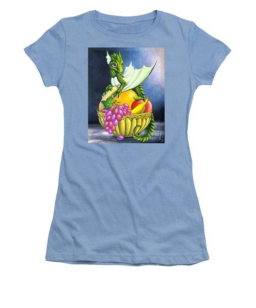 Fruit Dragon Women's T-Shirt (Athletic Fit)