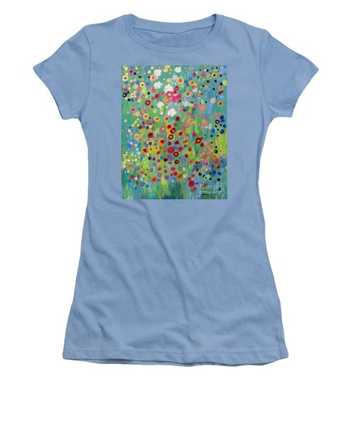 Garden's Dance Women's T-Shirt (Junior Cut) by Stacey Zimmerman