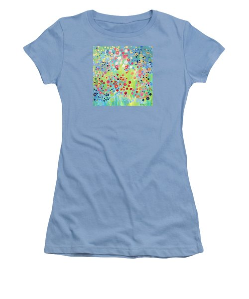 Garden's Delight Women's T-Shirt (Junior Cut) by Stacey Zimmerman