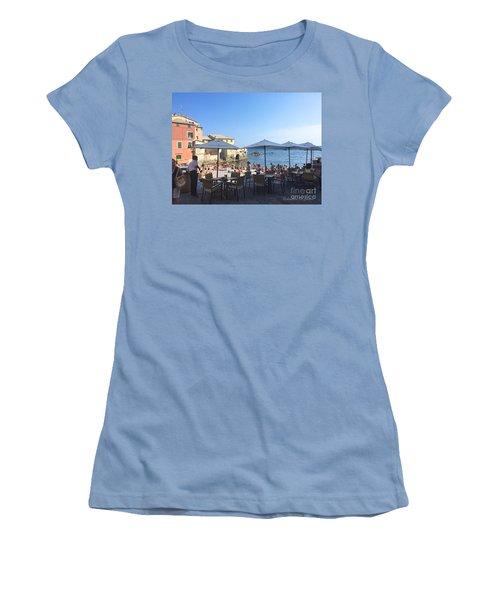 Genova, Boccadasse Women's T-Shirt (Athletic Fit)