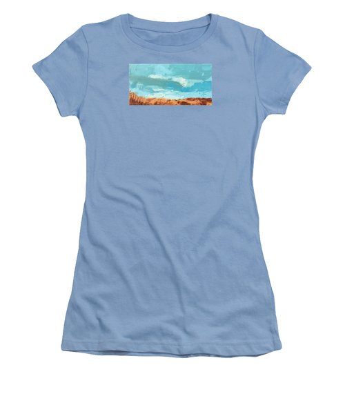 Glorious Journey Women's T-Shirt (Junior Cut) by Nathan Rhoads
