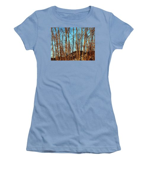 Women's T-Shirt (Junior Cut) featuring the photograph Glow Of The Setting Sun by Will Borden