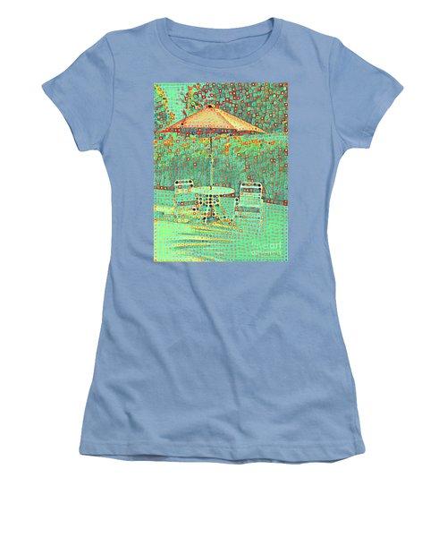 Golden Parachute Women's T-Shirt (Athletic Fit)