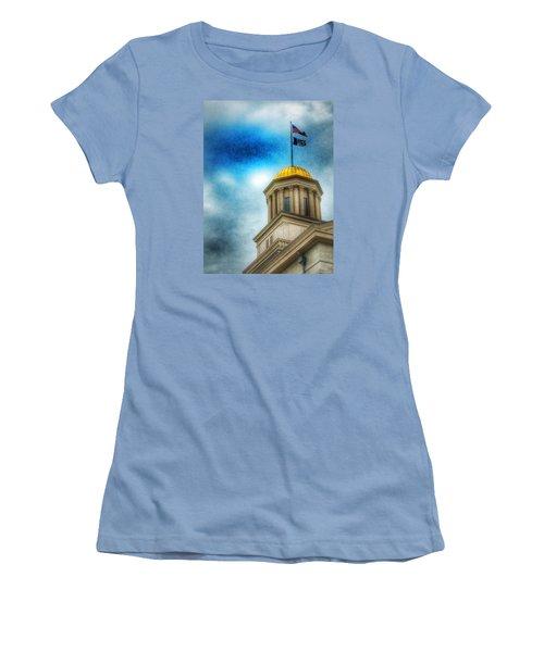 Golden Shine Women's T-Shirt (Junior Cut) by Jame Hayes