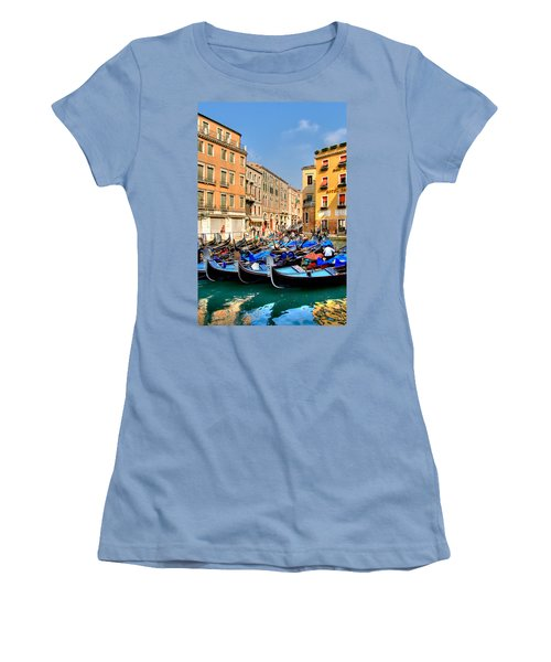 Gondolas In The Square Women's T-Shirt (Athletic Fit)