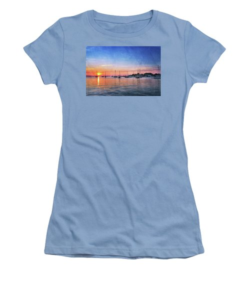 Good Morning Women's T-Shirt (Junior Cut) by Edward Kreis