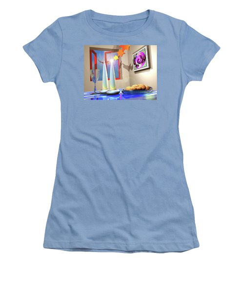 Good Shabbos Women's T-Shirt (Athletic Fit)