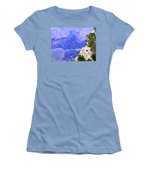 Women's T-Shirt (Athletic Fit) featuring the photograph Grand Canyon 86 by Will Borden