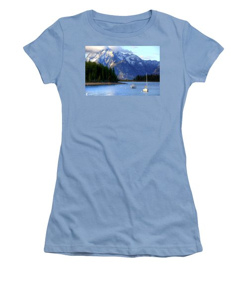 Grand Tetons Women's T-Shirt (Athletic Fit)