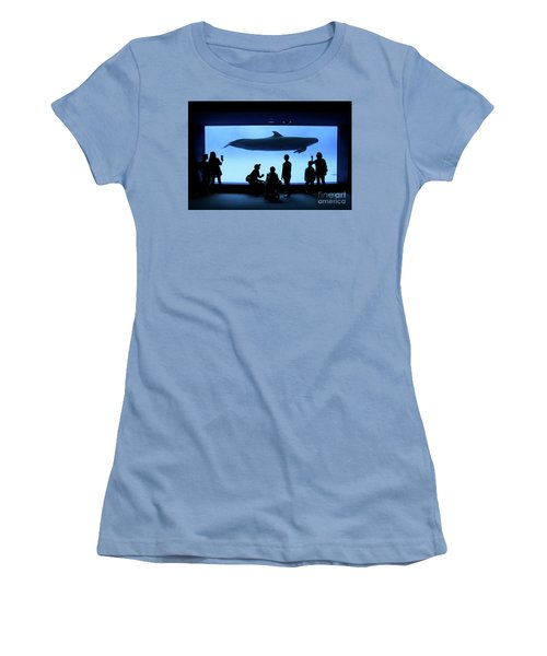 Women's T-Shirt (Junior Cut) featuring the photograph Grand Whale by Tatsuya Atarashi