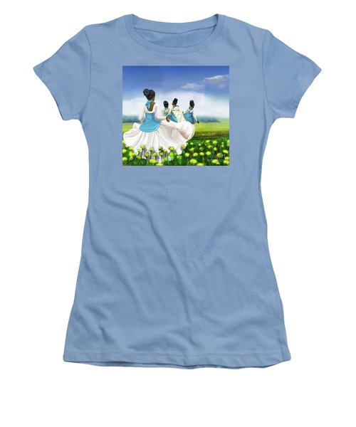 Green Pastures Women's T-Shirt (Athletic Fit)