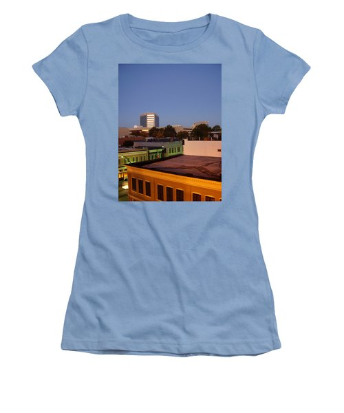 Greenville Women's T-Shirt (Junior Cut) by Flavia Westerwelle