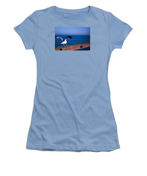 Gull Dance Women's T-Shirt (Athletic Fit)