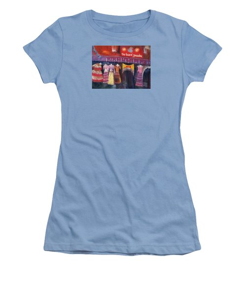 Hangin' In The Haight Women's T-Shirt (Athletic Fit)