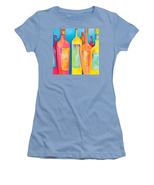 Happy Shiny Hour Women's T-Shirt (Athletic Fit)