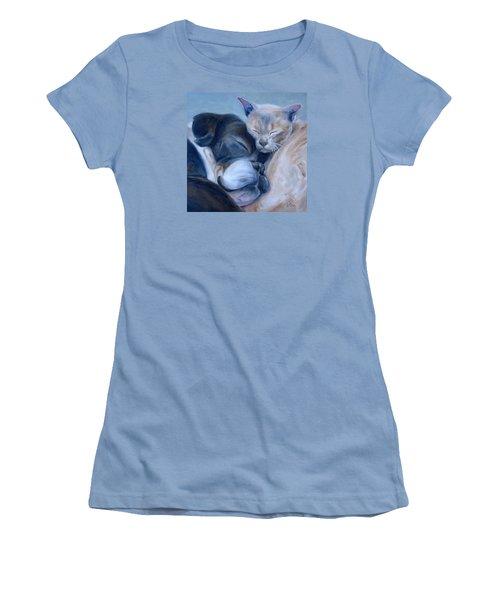 Harmony Women's T-Shirt (Junior Cut) by Donna Tuten