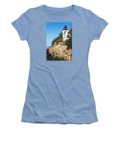 Women's T-Shirt (Junior Cut) featuring the photograph Head Lighthouse by Anthony Baatz