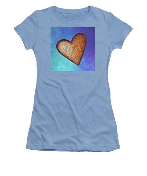 Heart Women's T-Shirt (Junior Cut) by Agata Lindquist