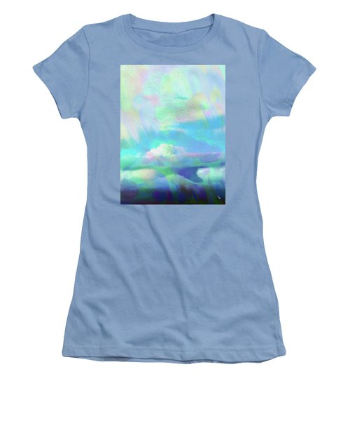 Heaven Women's T-Shirt (Junior Cut) by Karen Nicholson