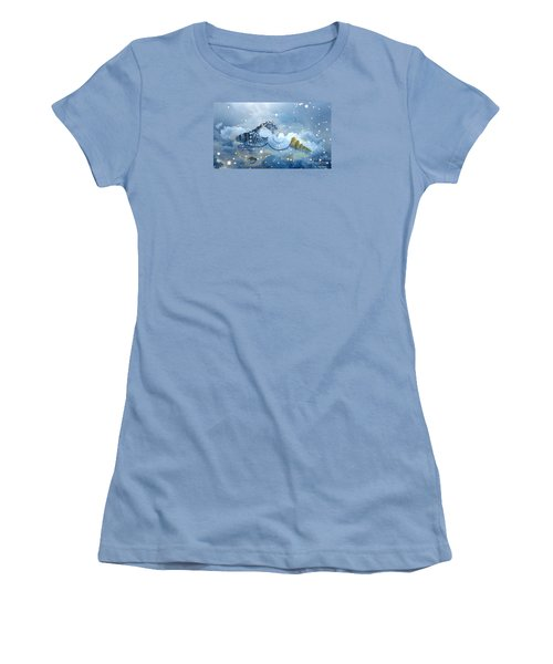 Heavenly Shells Women's T-Shirt (Athletic Fit)
