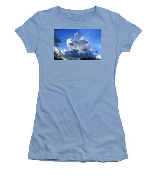 Women's T-Shirt (Junior Cut) featuring the photograph Heavenly Sunlight by Kathryn Meyer