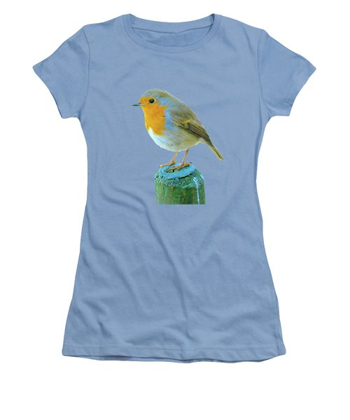 Hello Robin Women's T-Shirt (Athletic Fit)