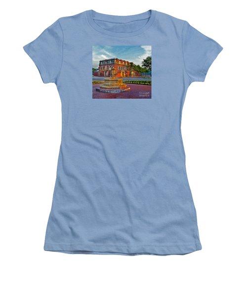 Hermannhof Festhalle Women's T-Shirt (Junior Cut) by William Fields
