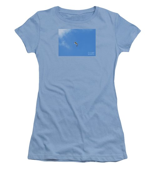 Herring Sea Gull 20120409_244a Women's T-Shirt (Athletic Fit)
