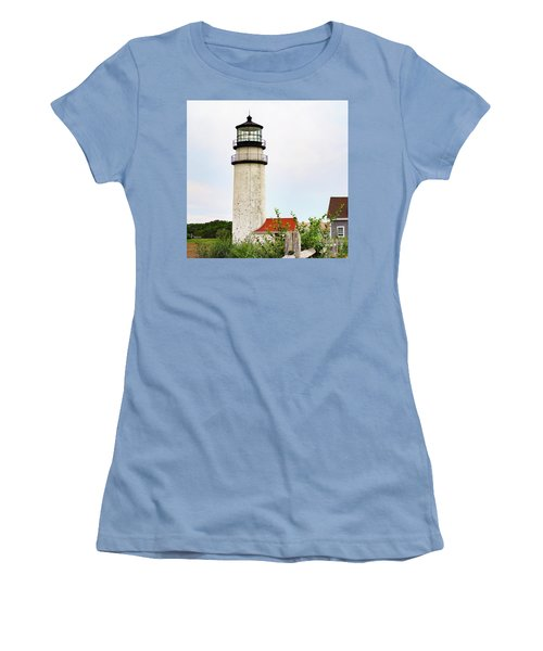 Highland Lighthouse II Women's T-Shirt (Junior Cut) by Marianne Campolongo
