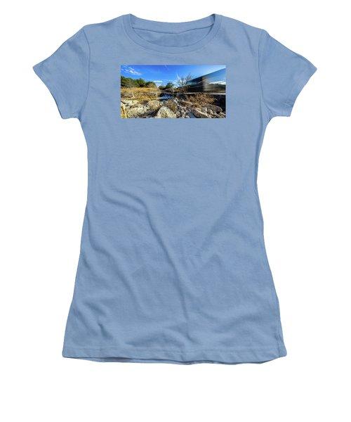 Hill Country Back Road Long Exposure #2 Women's T-Shirt (Junior Cut)