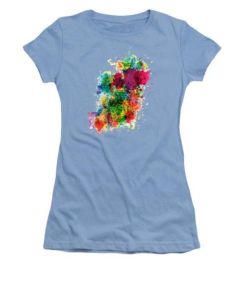 Hodge Podge T-shirt Women's T-Shirt (Junior Cut) by Herb Strobino