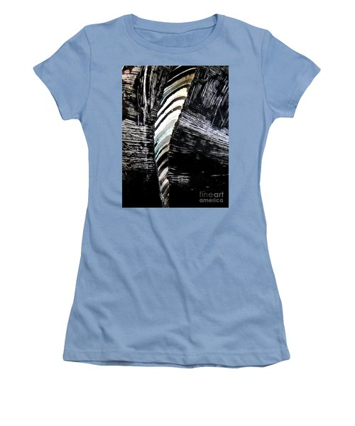 Hog Fish Floats Four Women's T-Shirt (Junior Cut) by Expressionistart studio Priscilla Batzell
